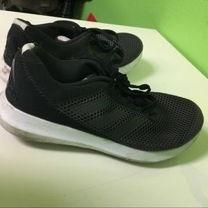 Adidas black shoes size 6 Made in Indonesia